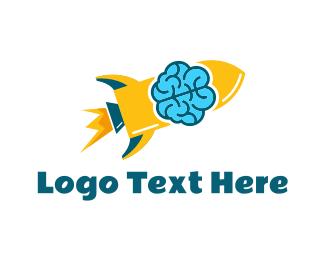Missile - Smart Rocket logo design