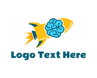 Mind - Smart Rocket logo design