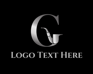 Smoke - Gentleman G Pipe logo design