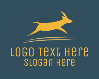 Safari - Brown Gazelle  logo design
