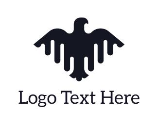 Politics - Black Eagle logo design