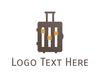 Musical - Music Baggage logo design
