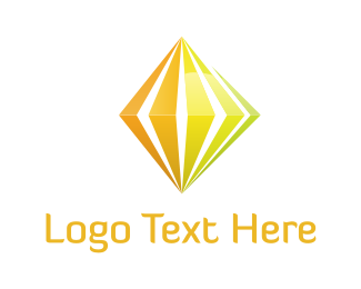 Green And Yellow - Yellow Diamond logo design