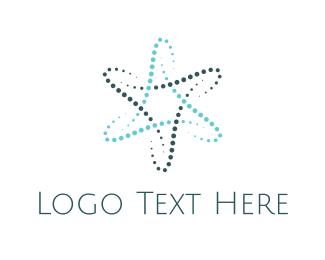 Orbit - Atom Star logo design