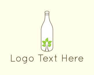 Bottle - Eco Bottle logo design