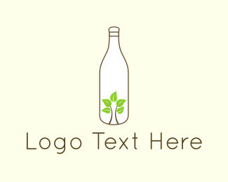 Ecology - Eco Bottle logo design