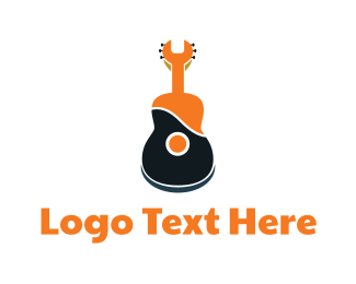 Entertainment Industry - Wrench Guitar logo design