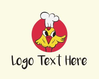 Rooster - Chef Chicken logo design