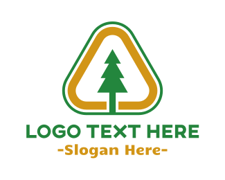 Pine - Pine Triangle logo design