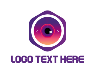 Hexagonal - Hexagonal Camera logo design