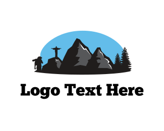 Hike - Adventure Landscape logo design