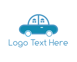Home - Car Home logo design