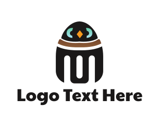 Metal - Penguin Robot logo design