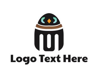 Penguin Robot Logo