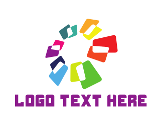 """Tech Flower"" by LogoBrainstorm"