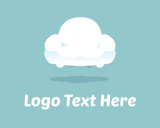 Streaming - Cloud Sofa logo design