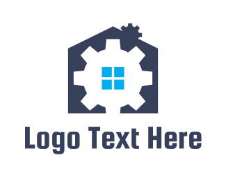 Machinery - Gear House logo design