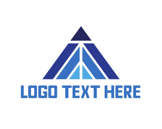 Blue Triangle Peak Logo