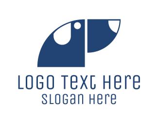 Veterinarian - Geometric Dog logo design