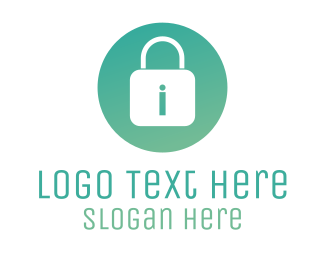 Secure - Safe Padlock logo design
