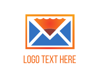 Send - Pencil & Mail logo design
