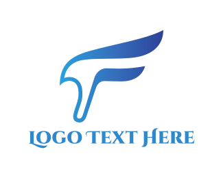 Sportswear - Blue Falcon logo design