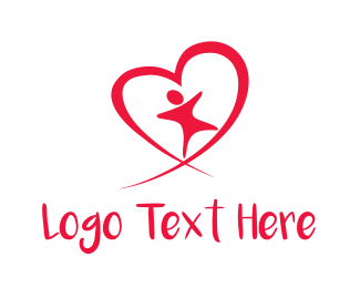 Care - Child Heart logo design
