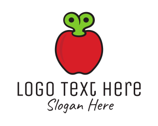 Fruity - Apple Toy logo design