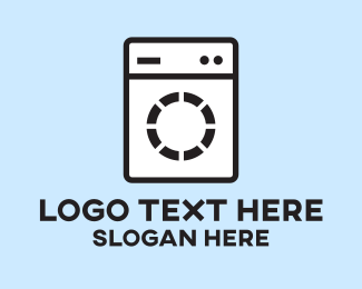 Cleaner - Washing Machine logo design