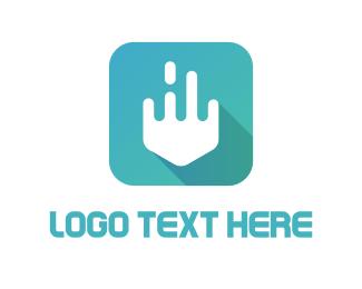 Liquid - Liquid Arrow logo design