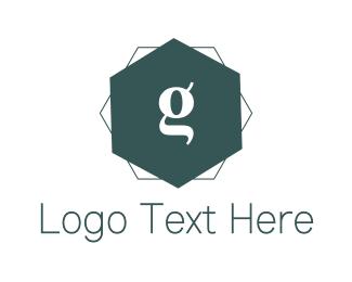 Hotel - Blue G Hexagon logo design