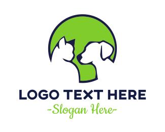 Feline - Circle Pets logo design