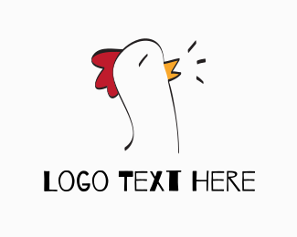 Farmer - Chicken Farm logo design