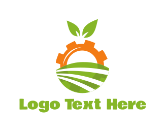 Farmer - Agriculture Engine logo design