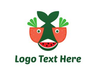 Lettuce - Salad Fish logo design