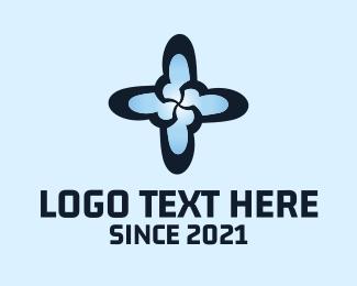 Plus - Star Cross logo design