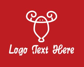 Shrimp - Lobster Shrimp logo design