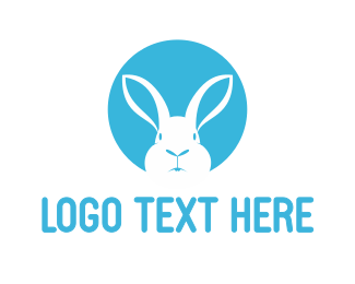 White - White Rabbit logo design
