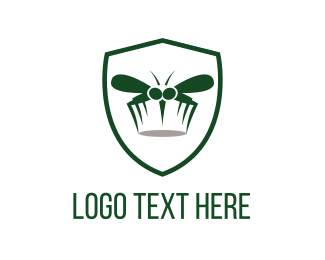 Fumigation - Mosquito Shield logo design