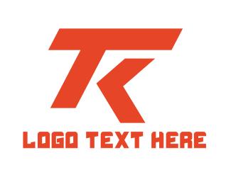 Esports - Automotive T & K logo design