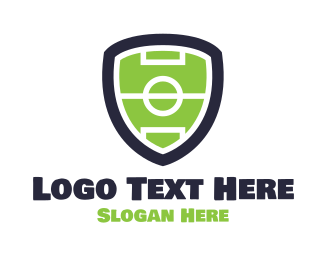 Soccer - Sports Shield logo design