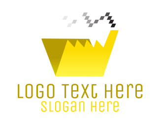 Lodge - Pixel File Factory logo design