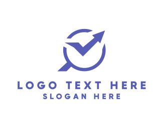 Finder - Statistics Finder logo design