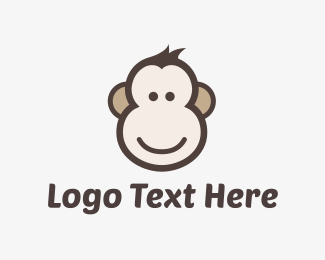 Monkey - Monkey Face logo design