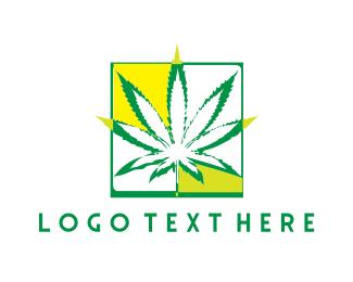 Drug - Cannabis Plant  logo design