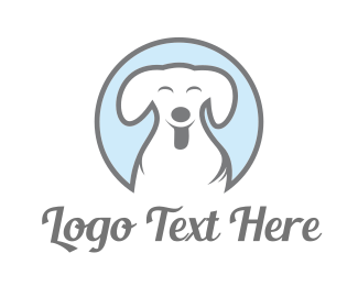 Funny - Happy Dog logo design