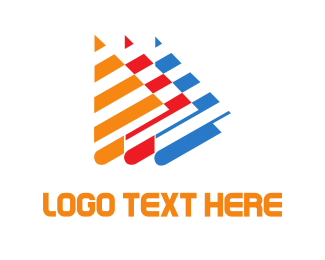 Triangle - Abstract Boats logo design