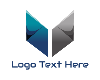 Metallic - Metallic Book logo design