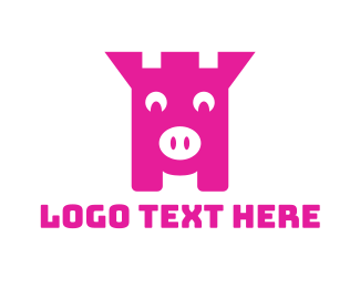 Piggy - Piggy Bank logo design