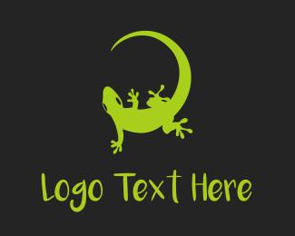 """Green Gecko"" by eriDesign"